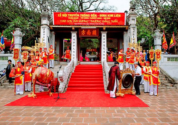 Hùng thiêng lễ hội tại ngôi đền có 39 sắc phong ở Hà Nội