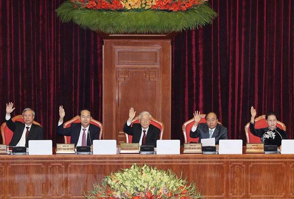 Bế mạc Hội nghị lần thứ 7, Ban Chấp hành Trung ương Đảng Khóa XII