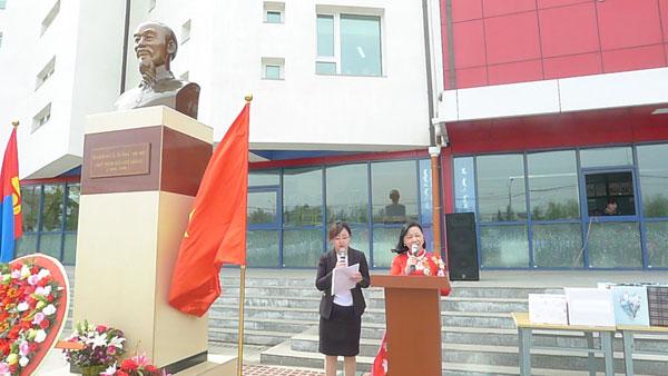 Lễ kỷ niệm 128 năm ngày sinh Chủ tịch Hồ Chí Minh tại Mông Cổ