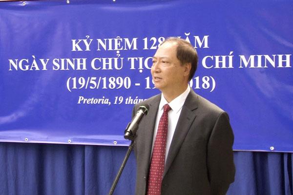 Kỷ niệm 128 năm ngày sinh của Chủ tịch Hồ Chí Minh tại Nam Phi