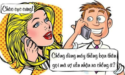 Tình yêu của vợ và điện thoại thằng bạn thân