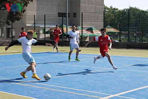 Giải bóng đá Thanh niên – Sinh viên Việt Nam mở rộng tại Séc 2018