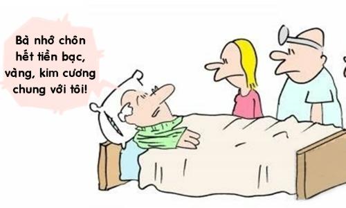 Cách vợ chiều lòng ông chồng tham lam