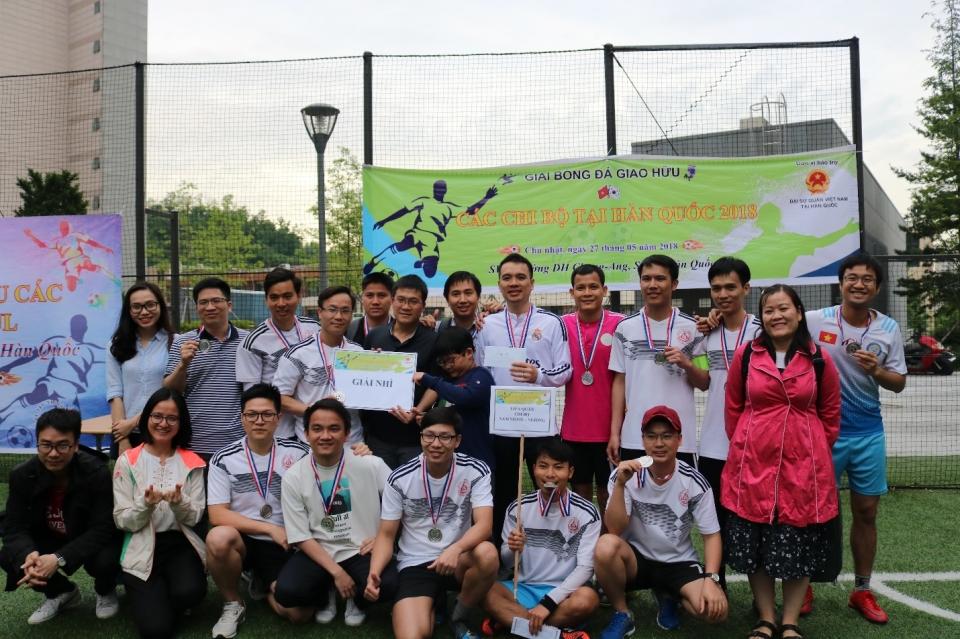 Lưu học sinh VN tại Hàn Quốc: Giao hữu các câu lạc bộ khu vực Seoul