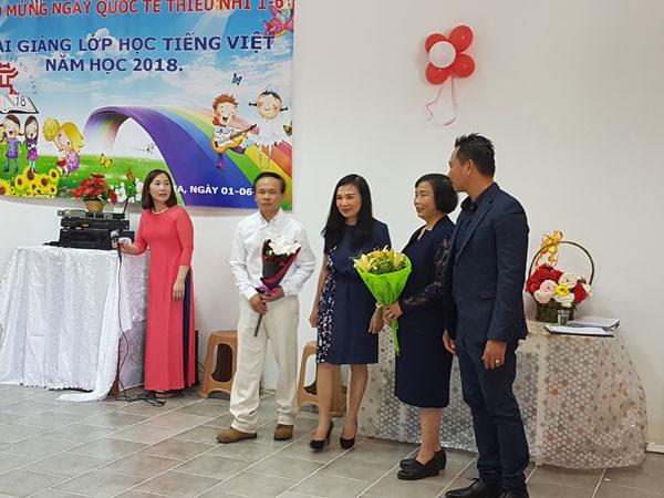 Khai giảng lớp học tiếng Việt hè 2018 tại Bungari