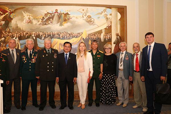 Đại sứ quán Việt Nam tổ chức triển lãm ảnh tại Tòa nhà Quốc hội Ucraina
