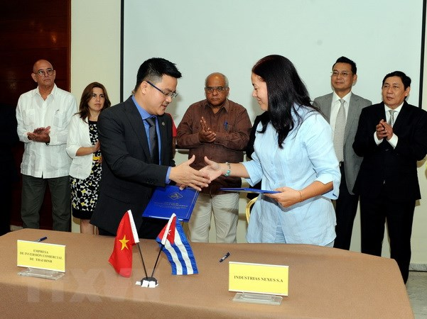 Việt Nam xây nhà máy sản xuất chất tẩy rửa tại Đặc khu Mariel của Cuba