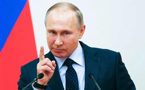 Tổng thống Putin: Syria không phải là bãi thử vũ khí của Nga