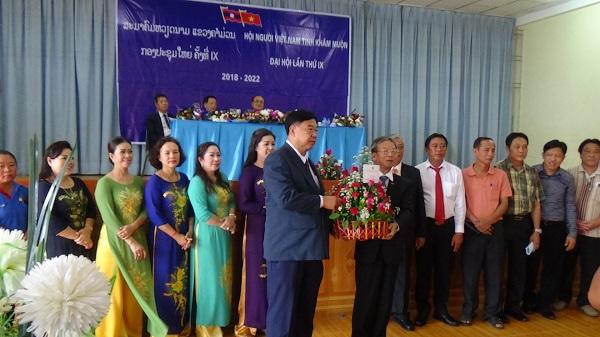 Hội người Việt Nam tỉnh Khăm-muồn (Lào) tổ chức Đại hội lần thứ IX