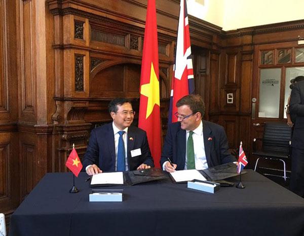 Anh nhấn mạnh nhu cầu hợp tác kinh tế với Việt Nam sau khi rời EU
