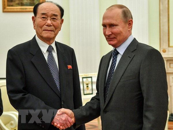 Tổng thống Putin xác nhận lời mời nhà lãnh đạo Kim Jong-un thăm Nga