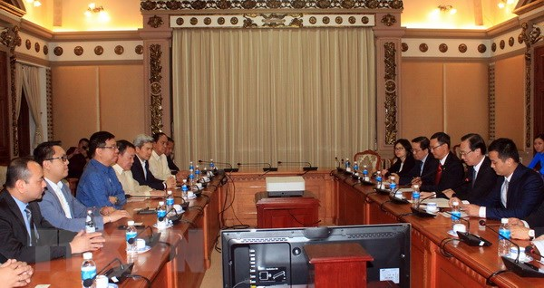 TP.HCM và Philippines đẩy mạnh hợp tác trao đổi thương mại