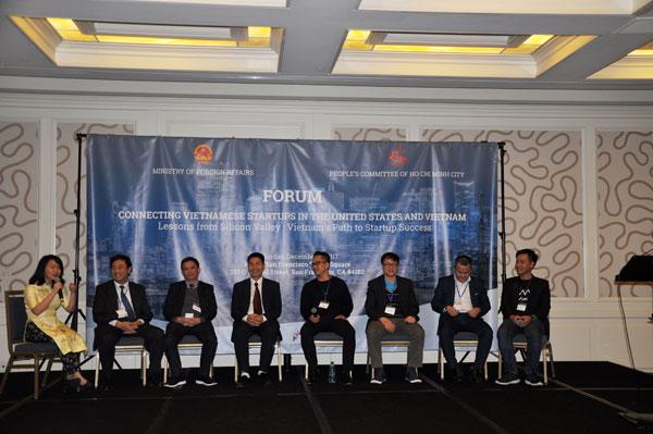 """Diễn đàn """"Kết nối Startup Việt trong và ngoài nước"""""""