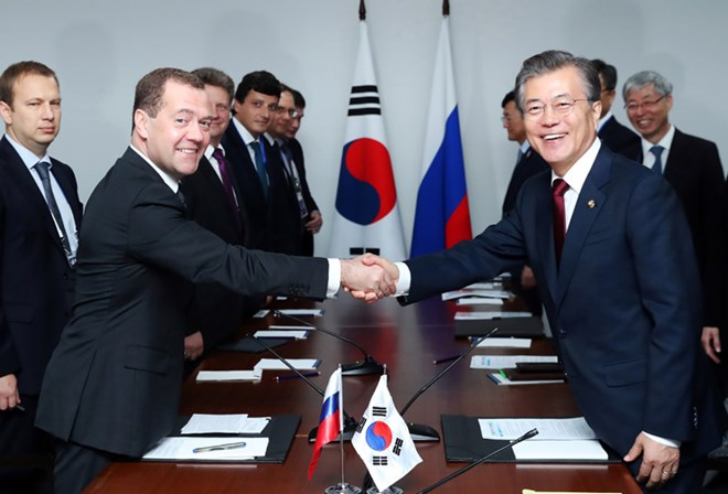 Nga, Hàn Quốc cam kết phối hợp lập hòa bình trên bán đảo Triều Tiên