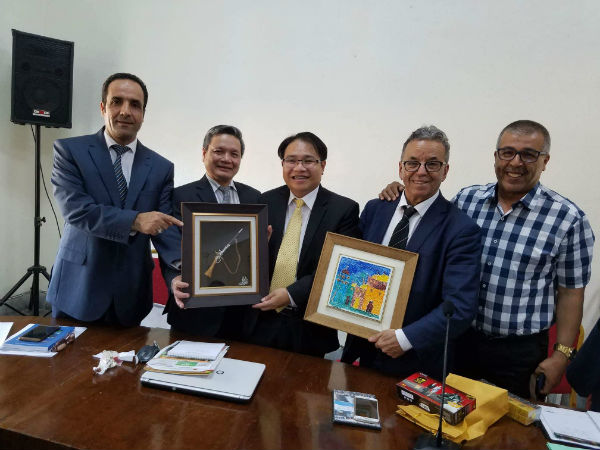 Tăng cường hợp tác kinh tế-thương mại giữa Việt Nam với tỉnh Mostaganem của An-giê-ri