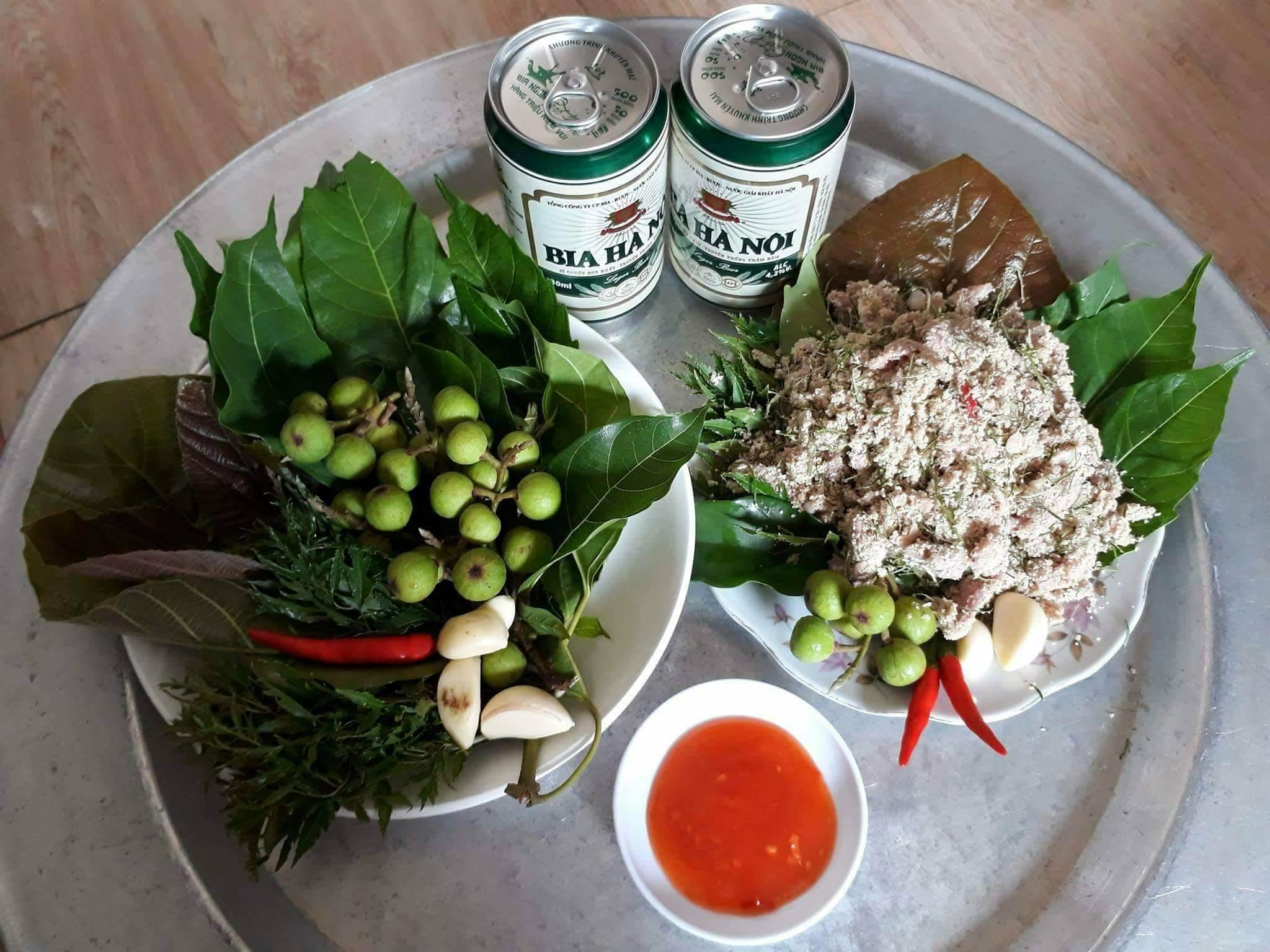 Thịt chua của người Thái ở Nghệ An