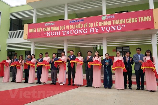 Vận hành ngôi trường trị giá 22 tỷ đồng cho trẻ em nghèo Thái Nguyên