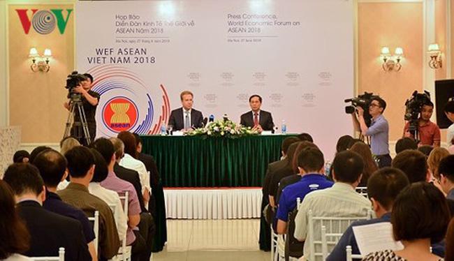 Tổ chức Hội nghị WEF ASEAN 2018 tại Hà Nội vào tháng 9