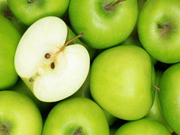 Mặt nạ táo xanh tự chế giúp làn da trắng sáng bất ngờ