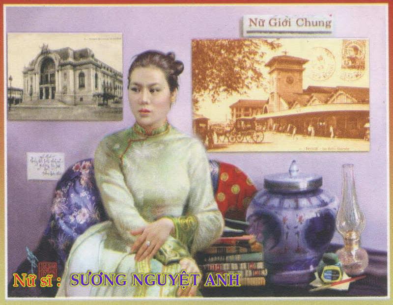 Sương Nguyệt Anh, nữ sĩ nhà báo đầu tiên của Việt Nam