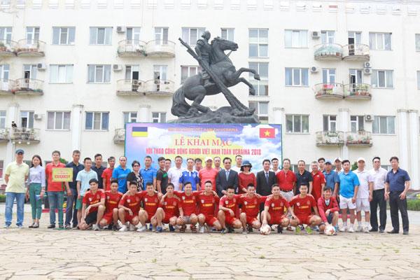 Ngày Hội thể thao Cộng đồng người Việt Nam toàn Ucraina