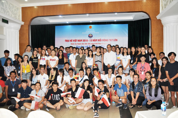 Trại hè Việt Nam 2018: Giao lưu, khơi nguồn cảm hứng cho kiều bào trẻ