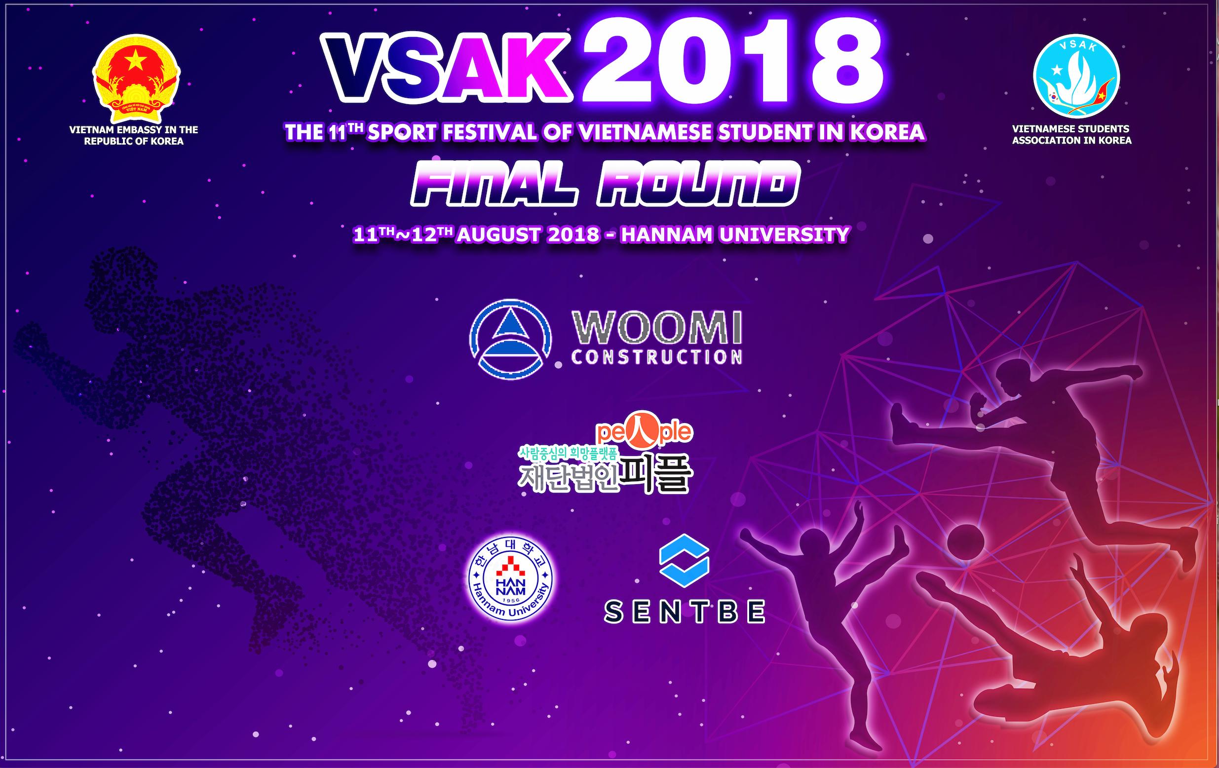 Đại hội thể dục thể thao dành cho sinh viên Việt Nam tại Hàn Quốc lần thứ 11