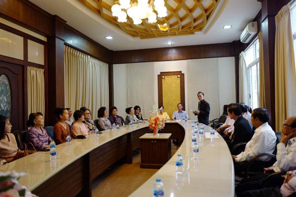 Uỷ ban Nhà nước về NVNONN: Thăm và làm việc tại Khỏn Kèn, Thái Lan