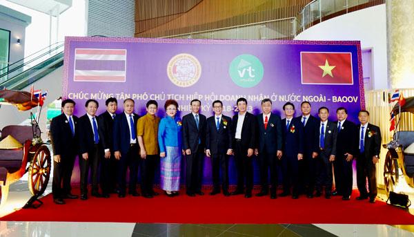 Đại hội lần thứ III Hiệp hội Doanh nhân Thái-Việt Nam