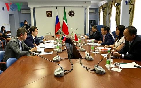 Nhiều triển vọng hợp tác giữa Việt Nam và Cộng hòa Tatarstan