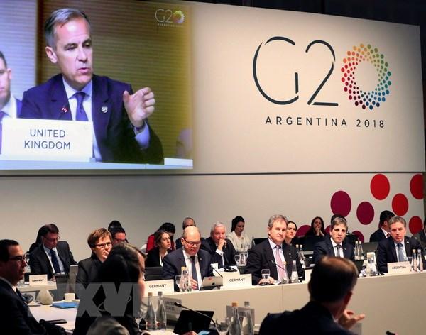 G20: Căng thẳng thương mại gây rủi ro cho tăng trưởng toàn cầu