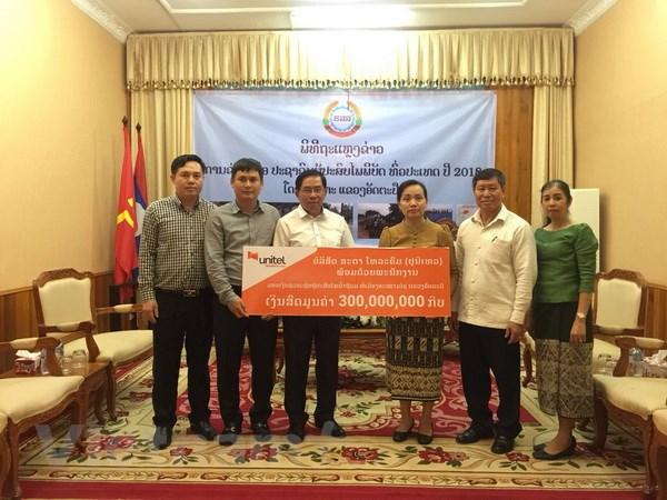 Doanh nghiệp Việt tại Lào hỗ trợ khắc phục sự cố vỡ đập thủy điện