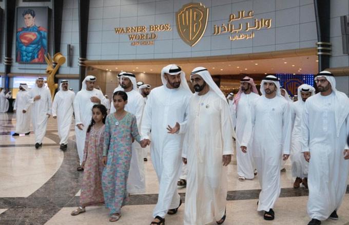 Abu Dhabi mở cửa công viên giải trí trong nhà lớn nhất thế giới