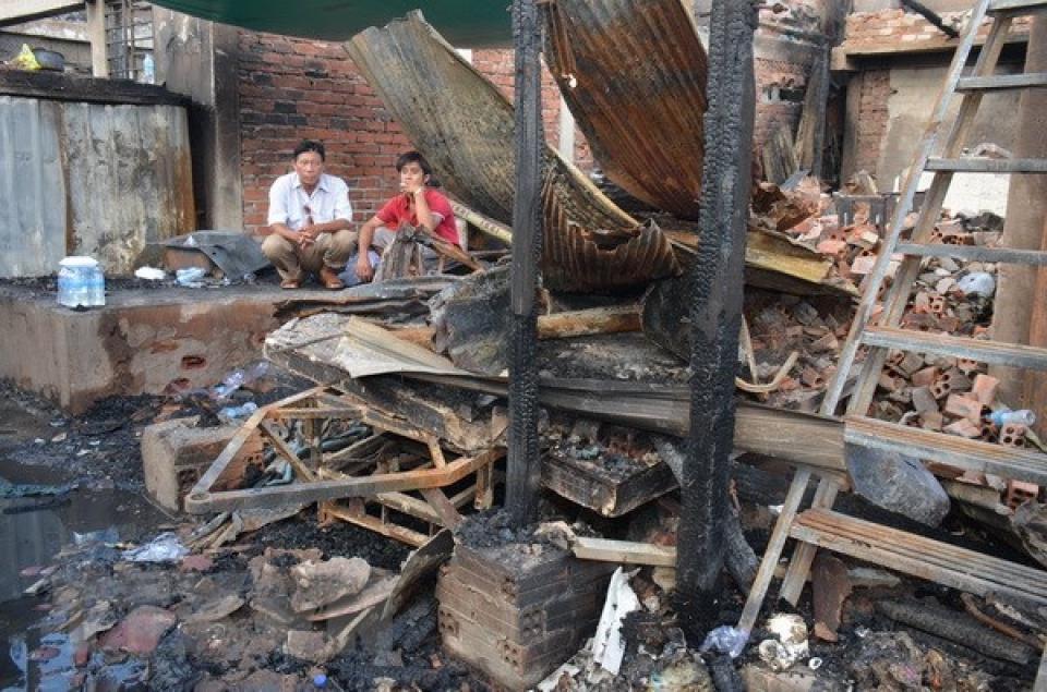 Người Việt bị hoả hoạn tại Campuchia tri ân sự quan tâm của Chính phủ và cộng đồng