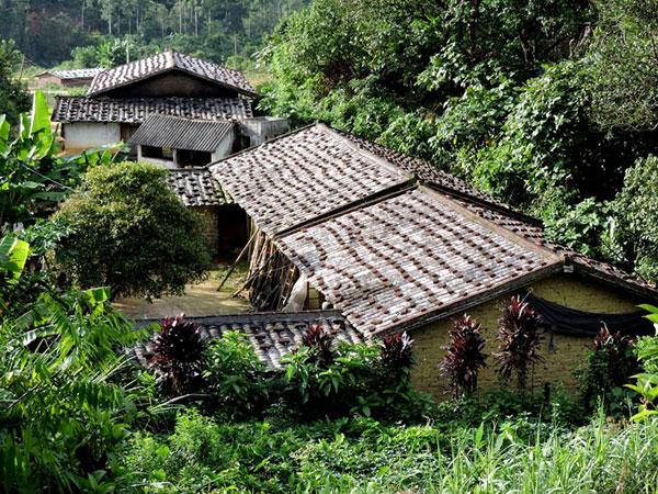 Nét đẹp sau những ngôi nhà gạch đất của người Tày ở Bình Liêu