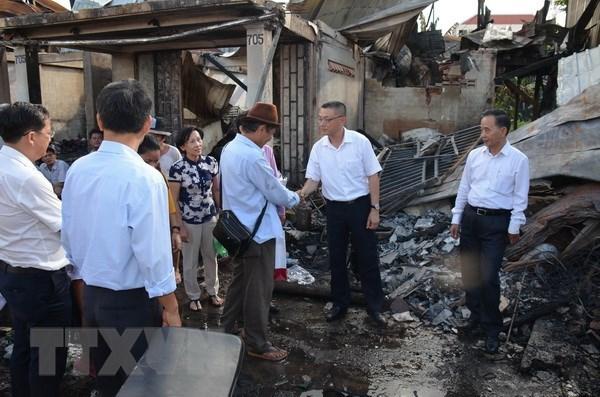 Xóm Việt kiều tại Campuchia hồi sinh sau trận hỏa hoạn lớn
