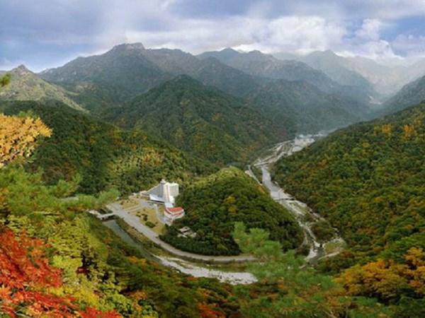 Quan chức Hàn Quốc tới Triều Tiên thanh tra lâm nghiệp chung