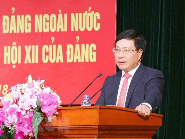 Đổi mới mạnh mẽ, sâu sắc và đồng bộ công tác đảng ngoài nước