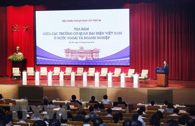 Tọa đàm giữa Trưởng cơ quan đại diện VN ở nước ngoài và doanh nghiệp