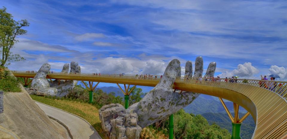 Ấn Độ muốn xây dựng những cây cầu biểu tượng như Cầu Vàng ở Việt Nam