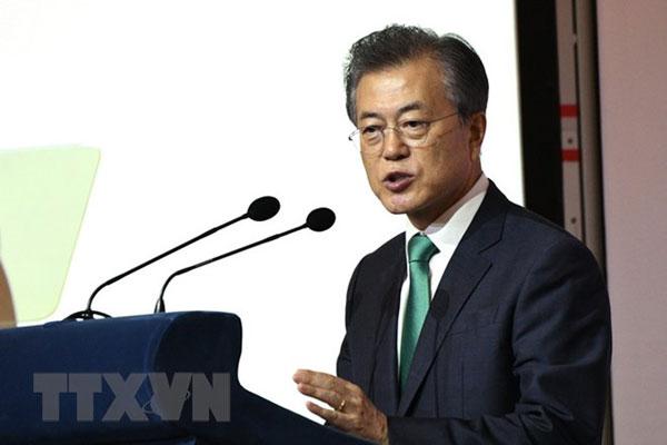 Tỷ lệ ủng hộ Tổng thống Hàn Quốc Moon Jae-in có dấu hiệu phục hồi