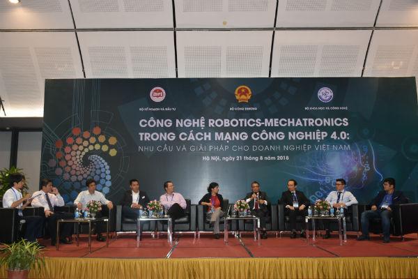 Công nghệ Robotics-Mechatronics: thách thức và ứng dụng cho doanh nghiệp Việt Nam