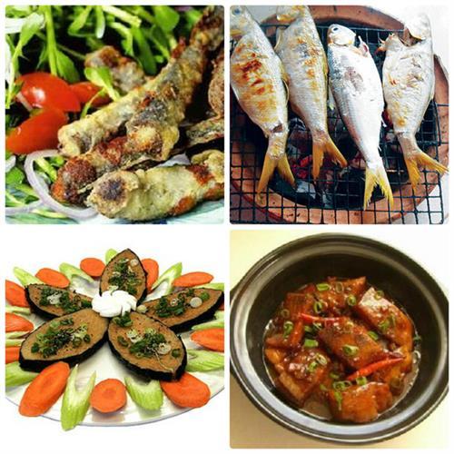 Cá Cháy món ngon ẩm thực Vĩnh Long