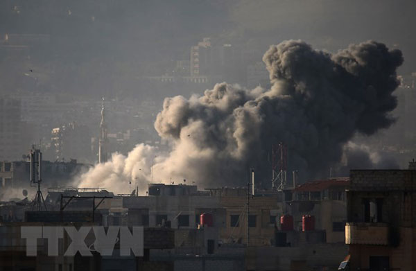 Nga: Anh chuẩn bị phát động vụ tấn công hóa học giả mạo tại Syria