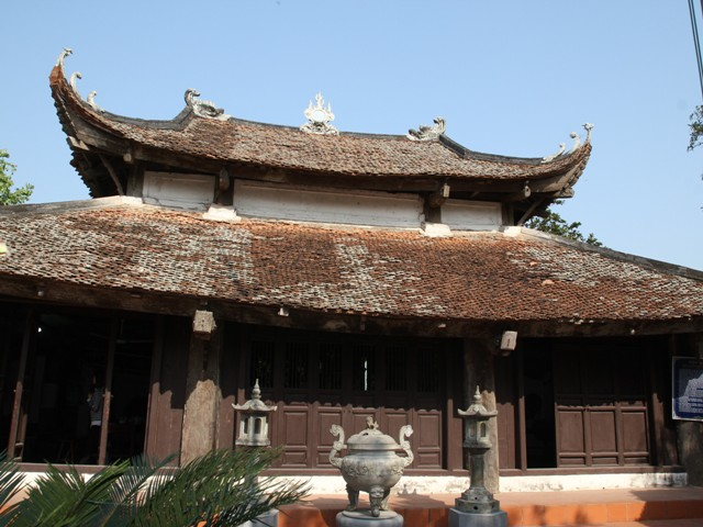 Đình làng Giẽ Thượng - Nét chạm khắc nghệ thuật độc đáo