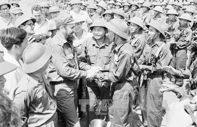 Cuba kỷ niệm 45 năm chuyến thăm lịch sử của lãnh tụ Fidel tới Việt Nam