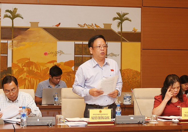 Bế mạc phiên họp mở rộng Ủy ban Pháp luật của Quốc hội