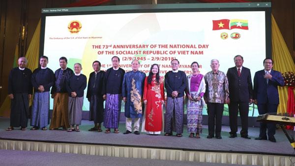 Sắc màu văn hóa Việt trong lễ kỷ niệm Quốc khánh tại Myanmar