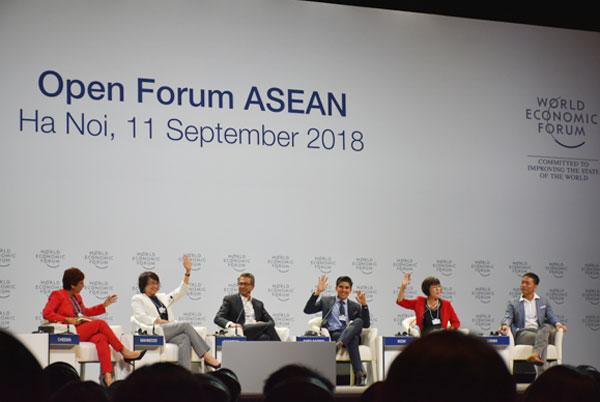 WEF ASEAN 2018: Lần đầu tiên tổ chức diễn đàn mở tại Việt Nam