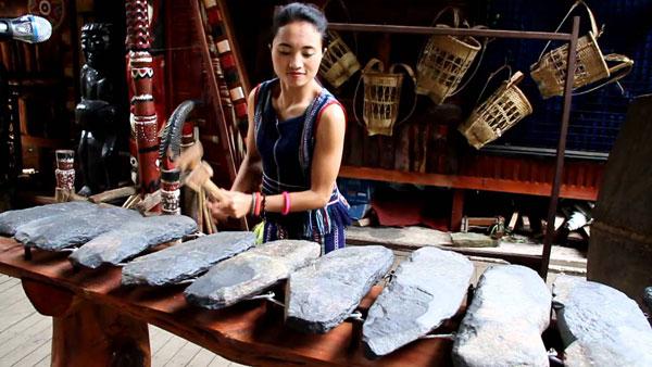 Đàn đá – nhạc cụ cổ xưa nhất của Tây Nguyên